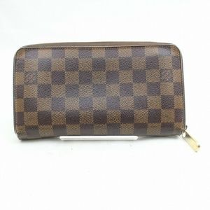 Auth Louis Vuitton Long Wallet Zippy #2357L14